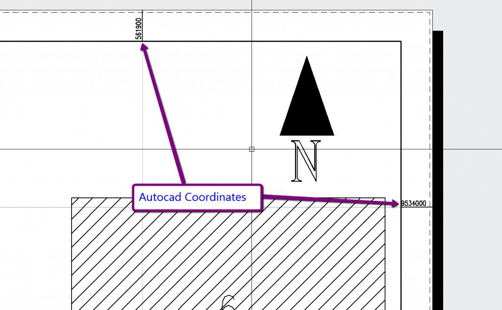 Autocad Coordinates