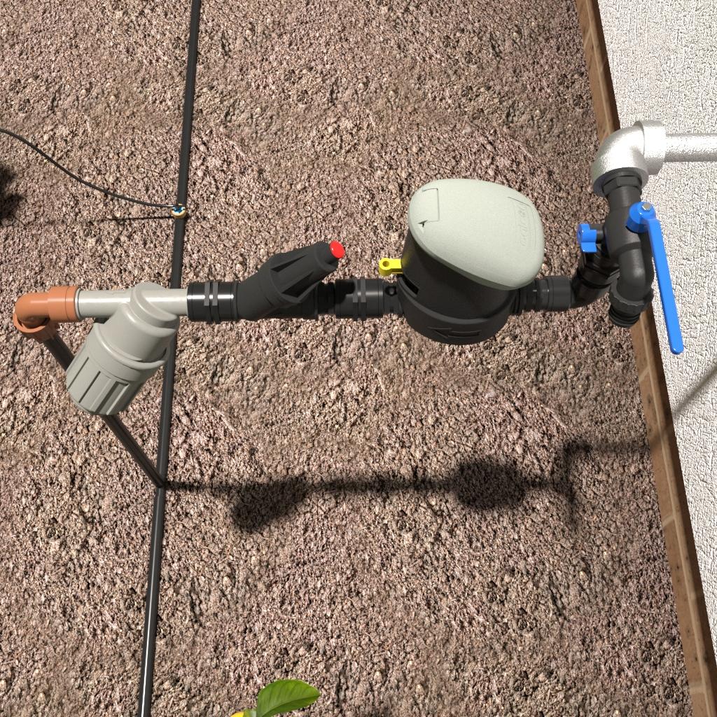 DIY micro Automatic Drip Irrigation KIT